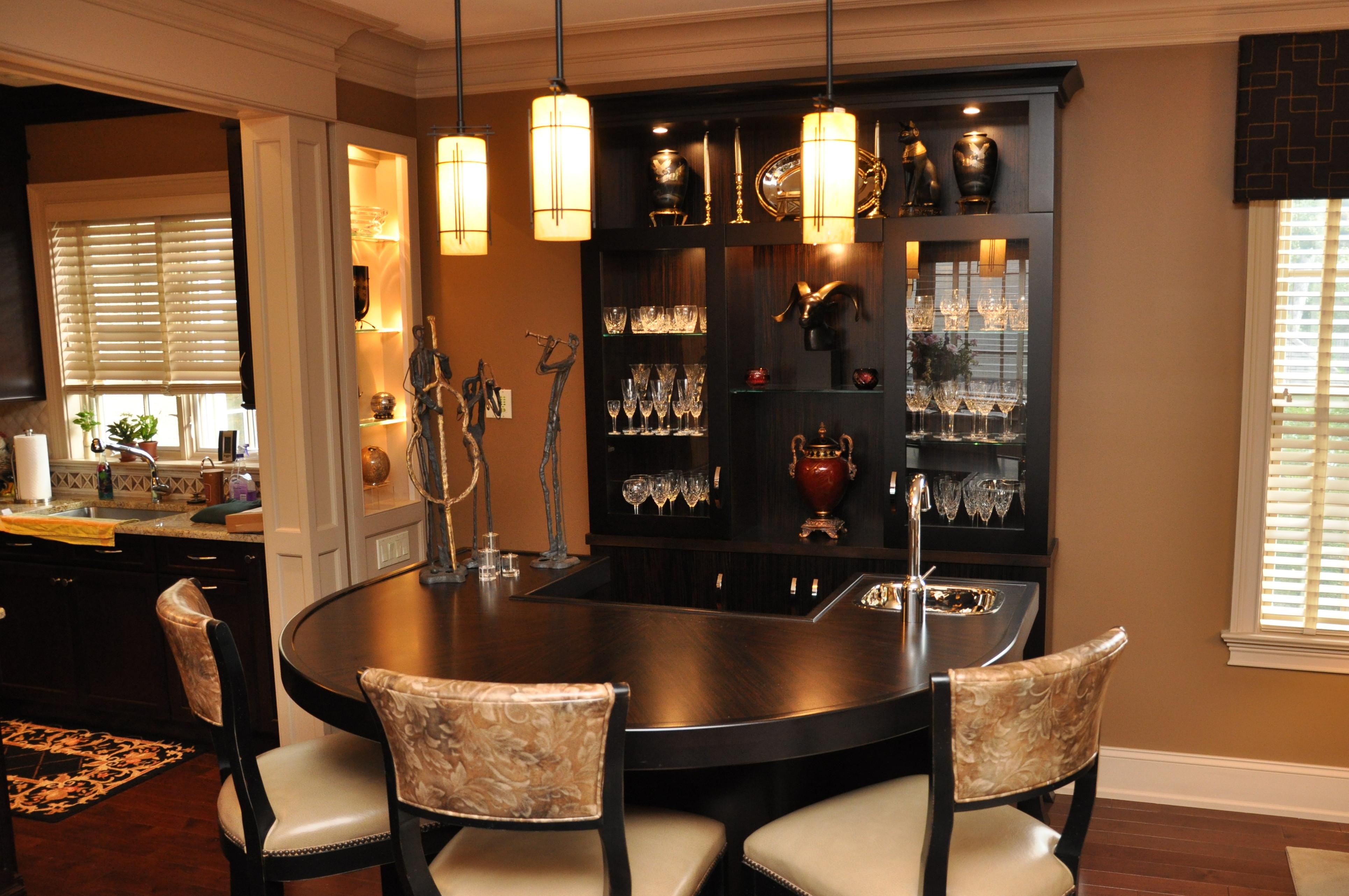 Sherman gosweiler - Built in bar cabinets ...